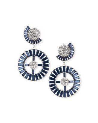 Lulu Frost Prophecy Crystal Statement Earrings