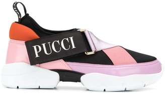 Emilio Pucci City Cross Neoprene Sneakers