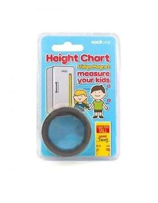 NEW Suck UK Height Chart Fridge Magnet by Until