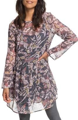 Roxy Amazing Wave Print Dress