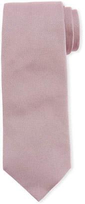 Emporio Armani Neat Textured Silk Tie