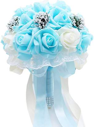 Lampang Wedding Bouquet Stunning Hand Held Wedding Accessories Rose Flowers