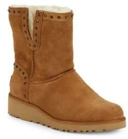 UGG Cyd Lamb Shearling Studded Boots