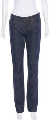 Louis Vuitton Mid-Rise Straight-Leg Jeans
