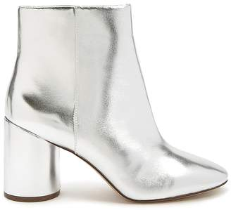 Forever 21 Metallic Faux Leather Boots