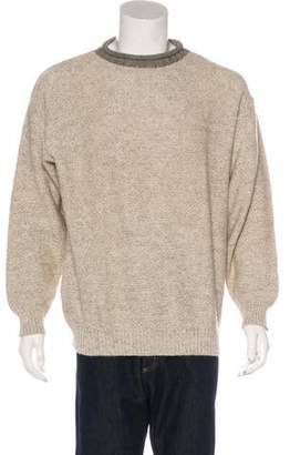 Luciano Barbera Wool Knit Sweater