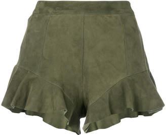 Drome frill detail shorts
