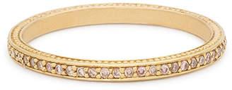 Jamie Wolf Thin Pave Cognac Diamond Band Ring