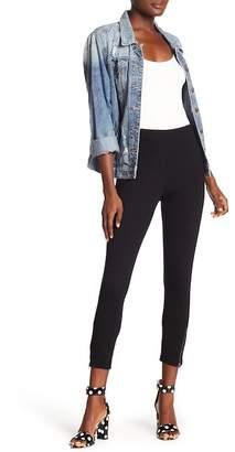 Hue Ankle Zip Solid Leggings
