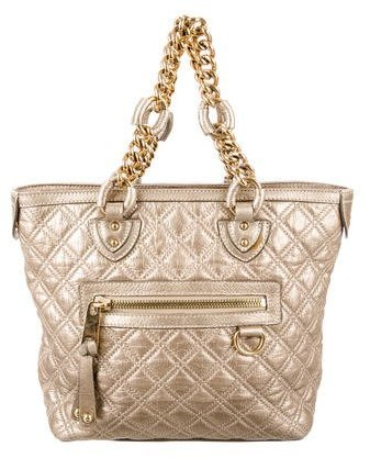 Marc Jacobs Quilted Leather Tote