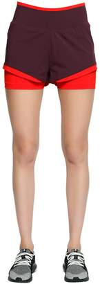 adidas by Stella McCartney Training Climachill Shorts W/ Tights