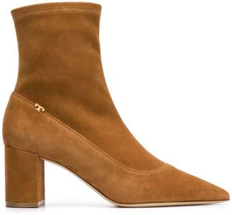 d39e70281 Tory Burch Brown Ankle Women s Boots - ShopStyle