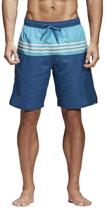 adidas Striped Swim Shorts