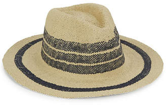 Hat Attack Two-Tone Straw Fedora