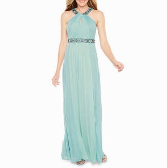ONE BY EIGHT One By Eight Sleeveless Evening Gown