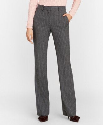 Brooks Brothers Petite Pinstripe Stretch Wool Pants