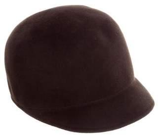 Burberry Brown Felt Hat