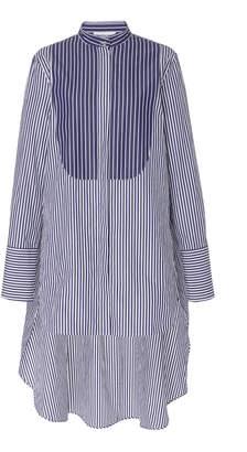 Monse Typewriter Button Front Stripe Shirt