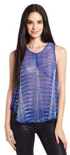 Parker Women's Luna Beaded Sleeveless Top
