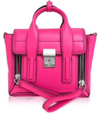 3.1 Phillip Lim Neon Pink Leather Pashli Mini Satchel