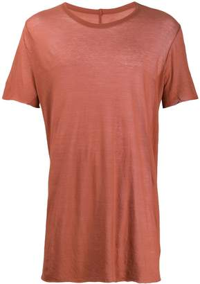 Rick Owens ribbed T-shirt