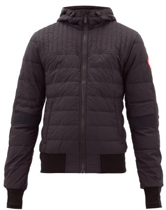 Canada Goose Cabri Quilted Hooded Jacket - Mens - Black