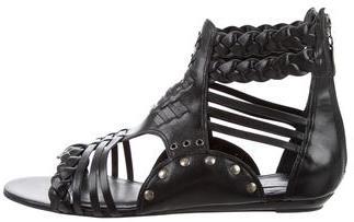 Pour La Victoire Leonora Gladiator Sandals $95 thestylecure.com