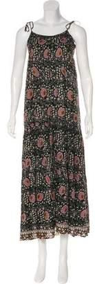 Natalie Martin Printed Maxi Dress
