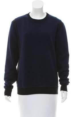Joseph Two-Tone Crew Neck Sweatshirt