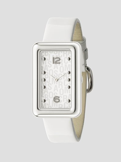Marc by Marc Jacobs Contrast Color Rectangle Watch