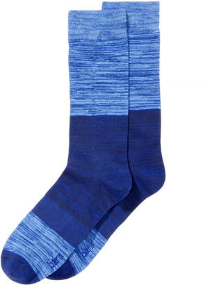 Bar III Men's Colorblocked Space-Dyed Socks, Created for Macy's
