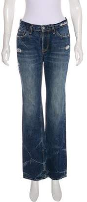 Hysteric Glamour Mid-Rise Straight-Leg Jeans