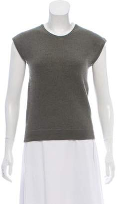 Marc Jacobs Cashmere Sleeveless Top Olive Cashmere Sleeveless Top