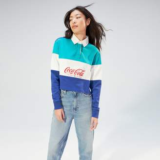 Tommy Hilfiger TOMMY JEANSXCOCA-COLA Cropped Rugby