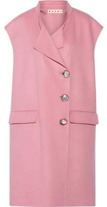 Marni Wool Cashmere And Angora-Blend Gilet