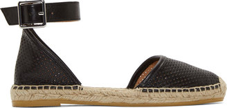 Marc by Marc Jacobs Black Summer Breeze Espadrilles $250 thestylecure.com