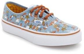 Vans x Disney Pixar ® Toy Story TM Woody Authentic Sneaker (Baby, Walker, Toddler, Little Kid & Big Kid)
