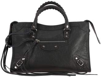 Balenciaga Handbag Classic City S Bag In Genuine Leather With Shoulder Strap