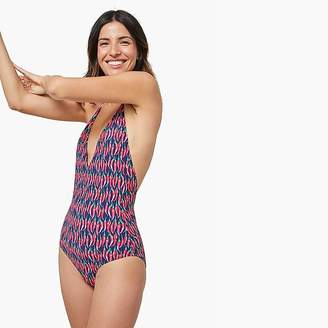 J.Crew Onia Nina chili one-piece