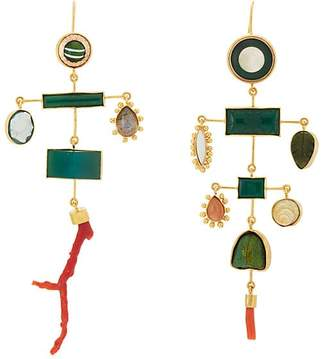 Grainne Morton Women's Mixed-Gemstone Drop Earrings