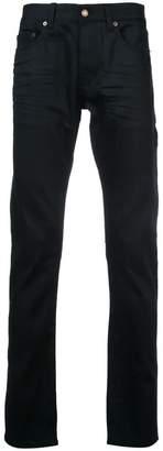 Saint Laurent high rise straight jeans