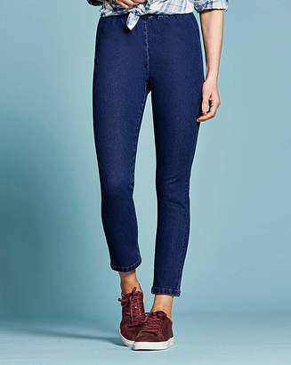 Anthology Denim Pull-On Slim Leg Jeggings Long