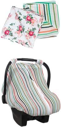 Bebe Au Lait Ojai Muslin Swaddle Blankets & Car Seat Cover Set