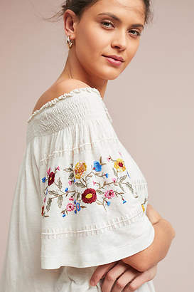 Ranna Gill Washoe Off-The-Shoulder Blouse