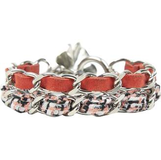 Chanel Red Metal Bracelets