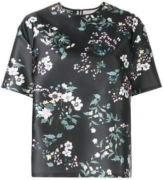 Rochas floral loose fit blouse