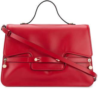 RED Valentino square design tote bag