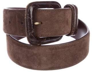 Polo Ralph Lauren Suede Buckle Belt