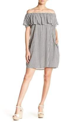 Soprano Off-the-Shoulder Patterned Dress
