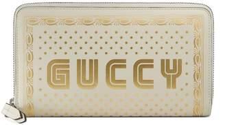Gucci Guccy zip around wallet